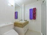 dstairs powder room